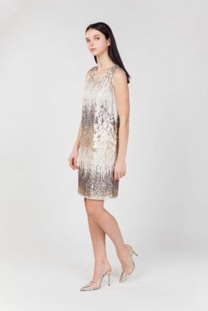 vestido corto lentejuelas lateral 2
