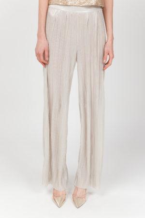 pantalon plisado oro frontal