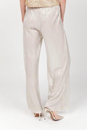 pantalon plisado oro espalda