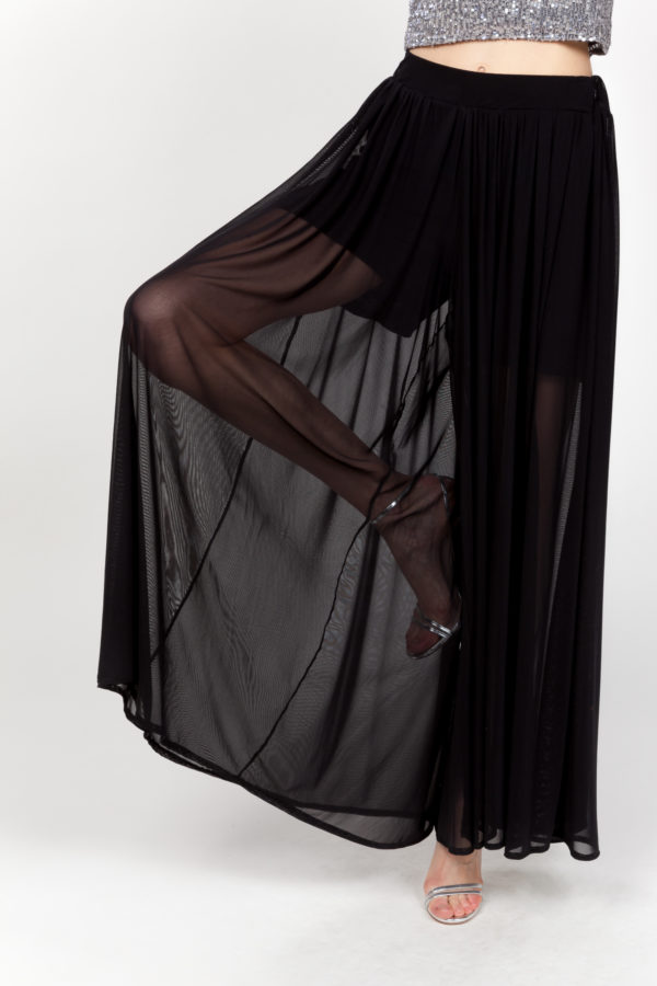 pantalon falda negra frontal 2