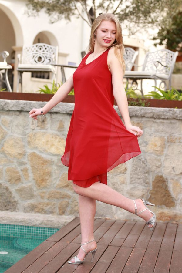 vestido ariana rojo 1