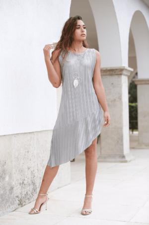 vestido lynn plateado 1